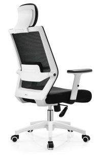 New style white plastic gaming computer office chair