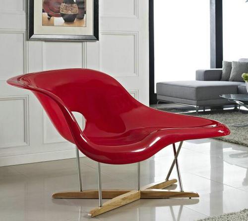 China OEM Charles Modern Fiberglass La Chaise Lounge Chair ...