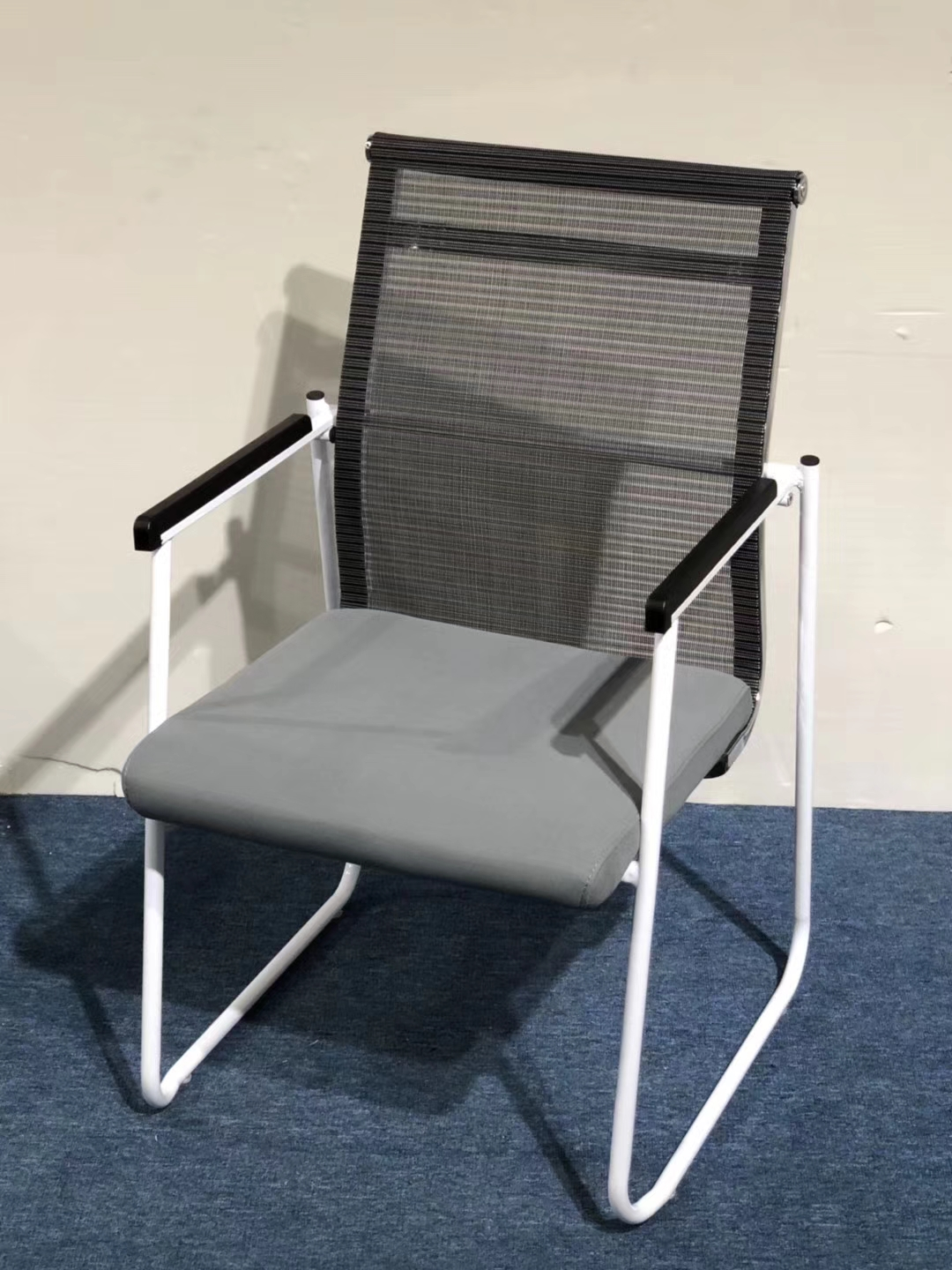 folding visitor chair plant stand wicker stackable office training staff used
