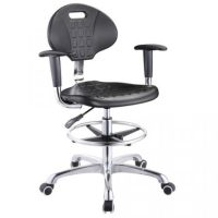 High quality lab stool chair adjustable stool with wheels ...