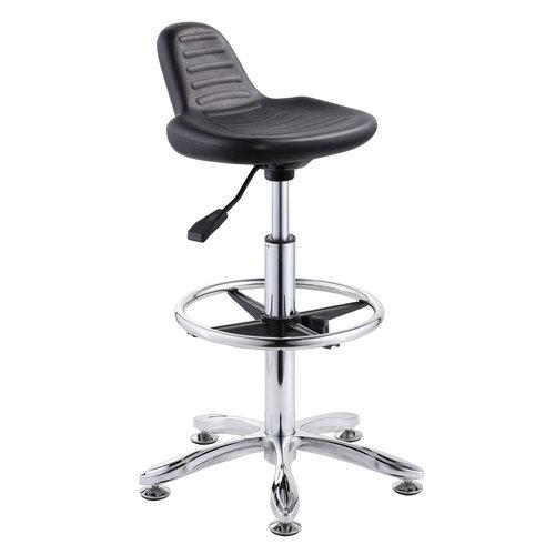 ergonomic chair no wheels folding online flipkart durable school laboratory computer lab chairs operator stool cashier ...