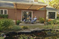 How to Build a Wood Pergola over a Patio  DIY Projects ...