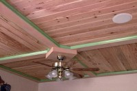 How to Put up a Wood Ceiling Using Tongue and Groove ...