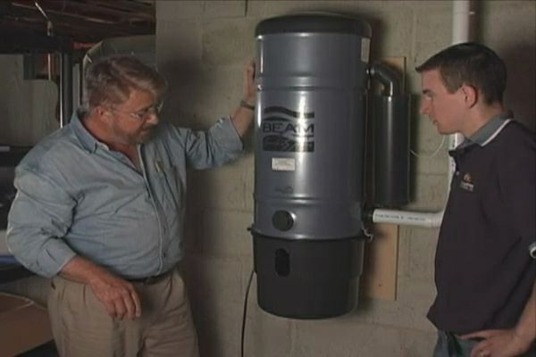 How to Install a Central Vacuum System  Ron Hazelton