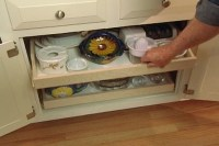 How to Make Pull-Out Shelves for Kitchen Cabinets  Ron ...