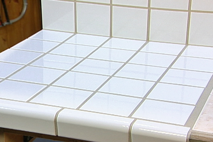 How to Lay Ceramic Tile on a Laminate Countertop  DIY