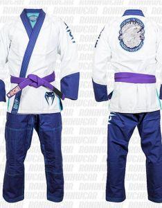 also venum koi absolute bjj gi limited edition white blue rh roninwear