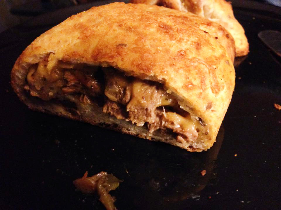 Philly Cheesesteak Stromboli