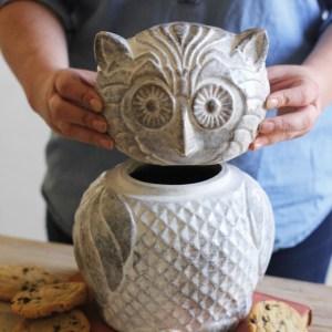 Owl Cookie Jar2