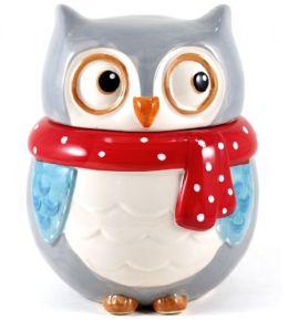 Owl Cookie Jar5