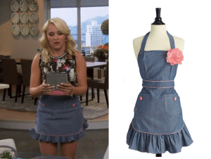 Young and Hungry Denim Apron