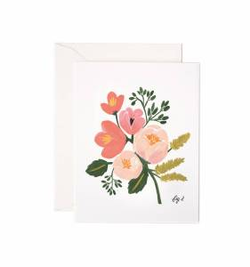 Rifle Paper Peony Card