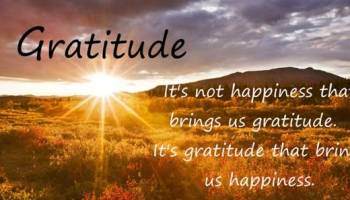 How to Make a List of Things to Be Grateful for
