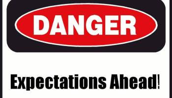 The Expectations Paradox: Danger Ahead