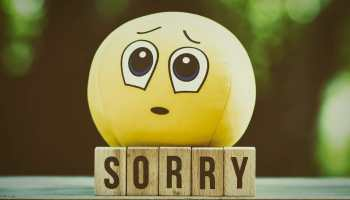 """It's Hard to Say """"I'm Sorry"""" When You're Not"""