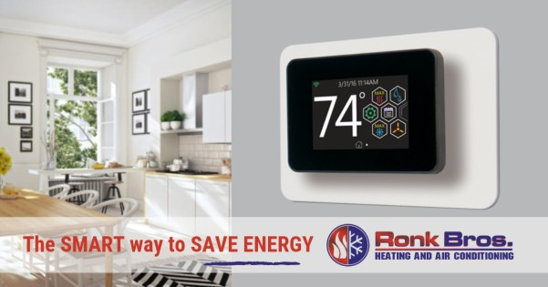 The SMART Way to Save Energy | Ronk Brothers Heating and Cooling