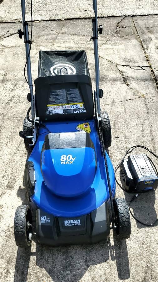 21 Inch 80 Volt Electric Lawn Mower