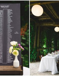 Long table decor details at ubc botanical gardens wedding also garden candid vancouver photography rh ronnieleehill