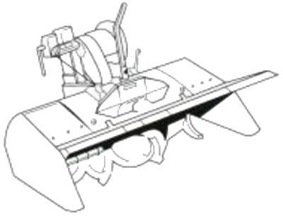 Honda FM66 Rear cultivator attachment to fit the F720