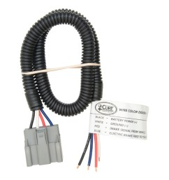 curt brake control harness with pigtails 51435 ron u0027s toy shopford brake control wiring harness [ 1024 x 1024 Pixel ]