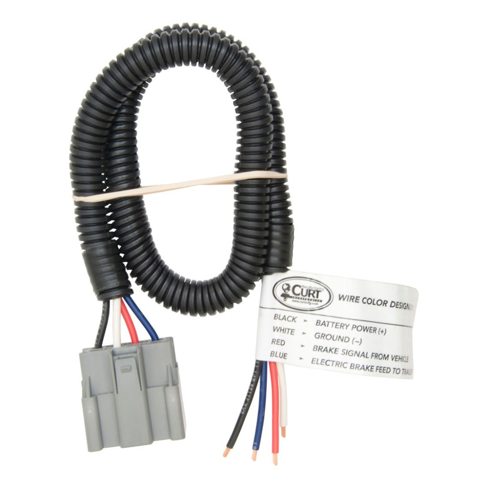 medium resolution of curt brake control harness with pigtails 51435 ron u0027s toy shopford brake control wiring harness