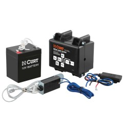 curt soft trac 1 breakaway kit with charger 52040 [ 1024 x 1024 Pixel ]