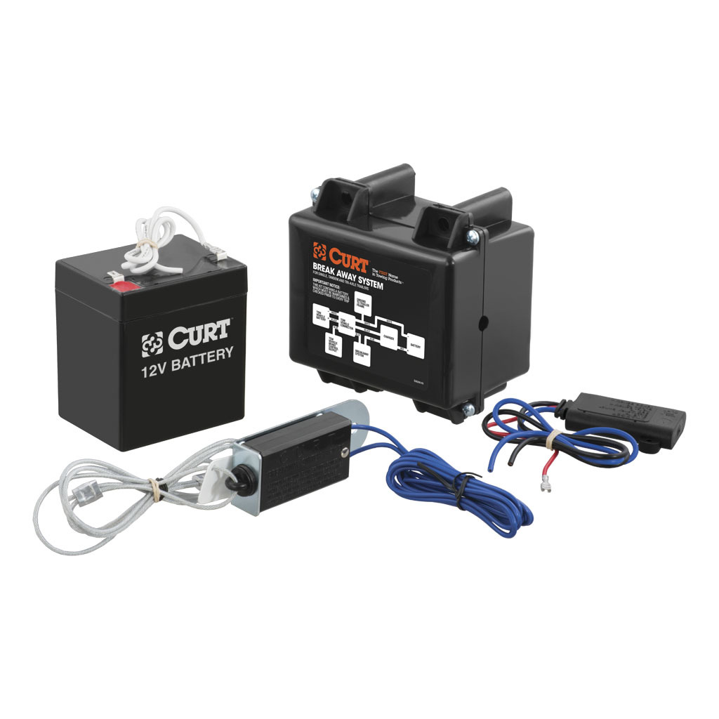 hight resolution of curt soft trac 1 breakaway kit with charger 52040