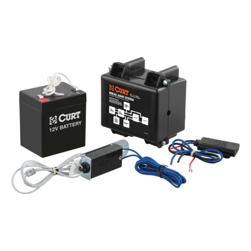 small resolution of curt soft trac 1 breakaway kit with charger 52040