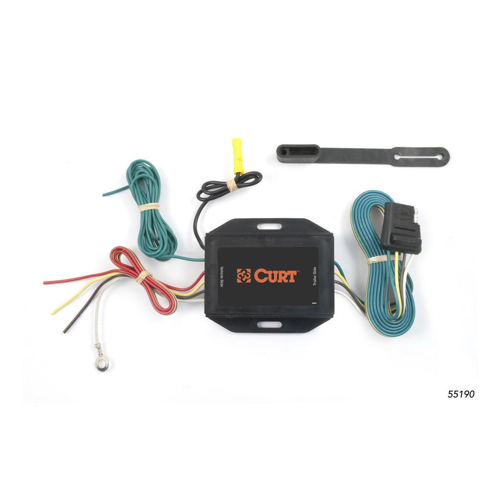 Curt Trailer Wire Converter 55190 Part 55190