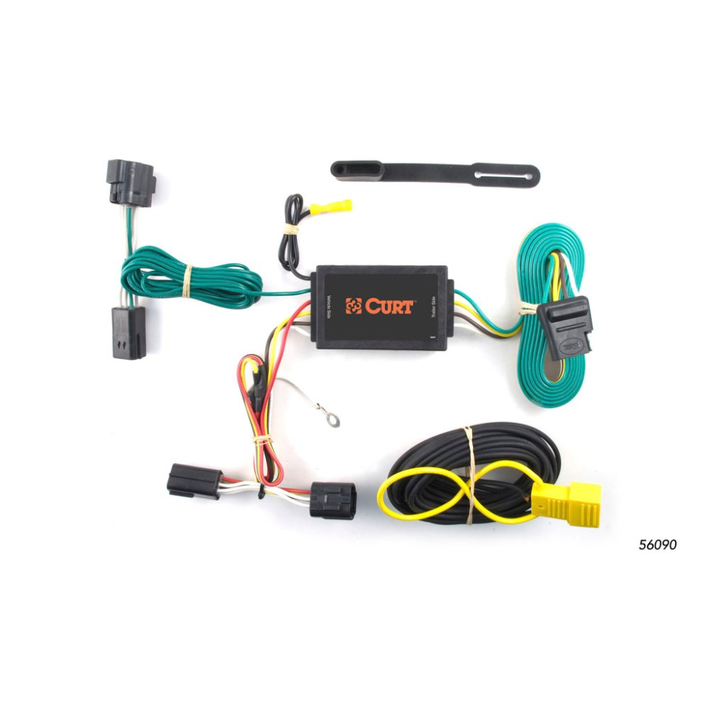 medium resolution of curt custom wiring harness 56090 ron s toy shop 2009 e350 trailer plug fuse 2017 ford transit