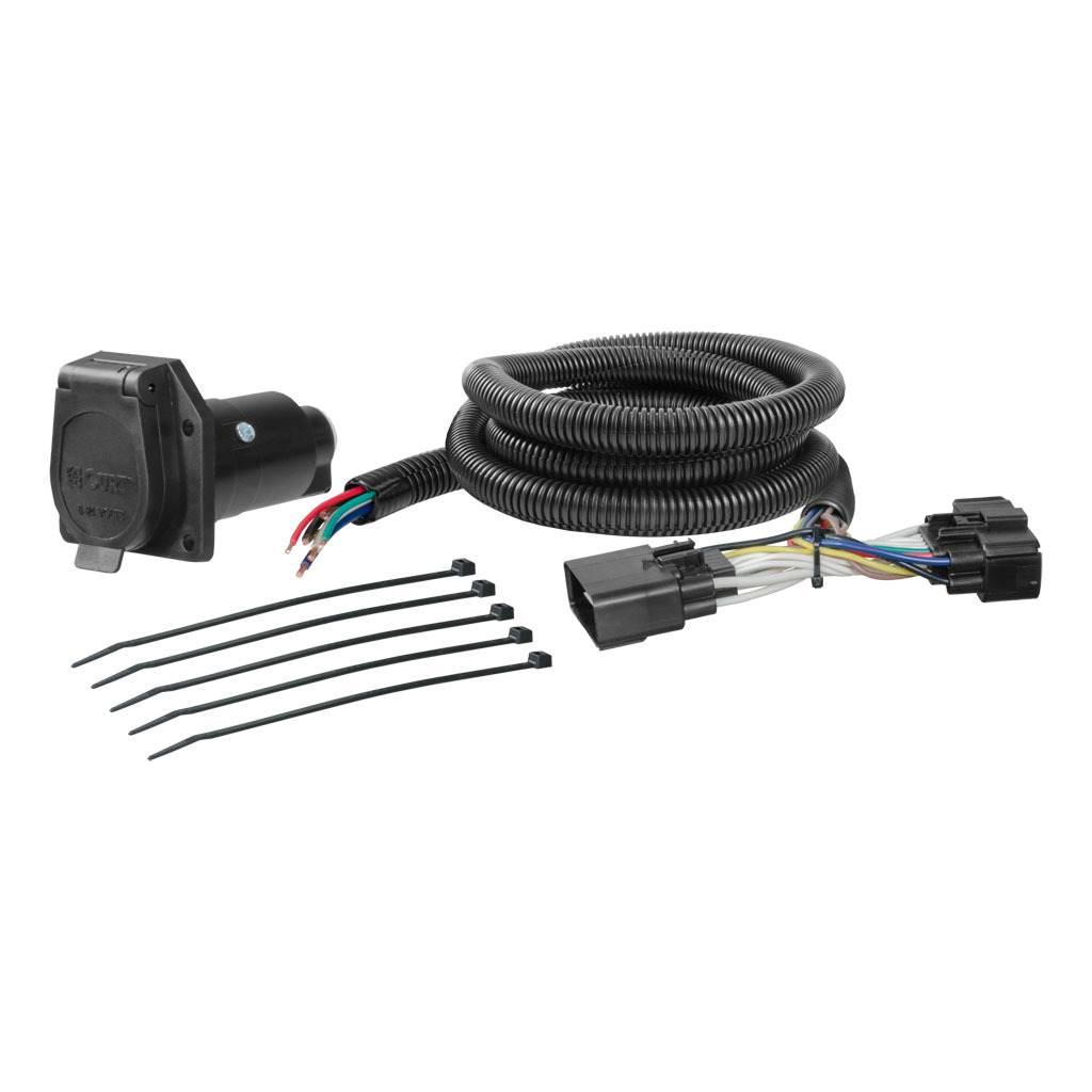 hight resolution of curt custom wiring harness 56278 ron s toy shop trailer wiring harness for 2016 ford f150