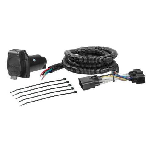 small resolution of curt custom wiring harness 56278 ron s toy shop trailer wiring harness for 2016 ford f150