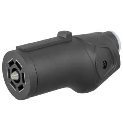 curt heavy duty 7 way rv blade connector plug 58145 [ 1024 x 1024 Pixel ]