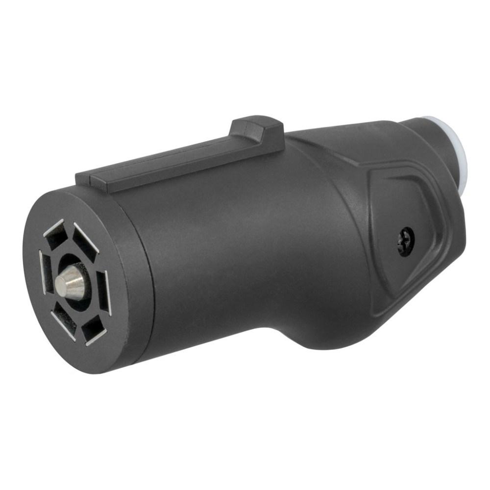 medium resolution of curt heavy duty 7 way rv blade connector plug 58145