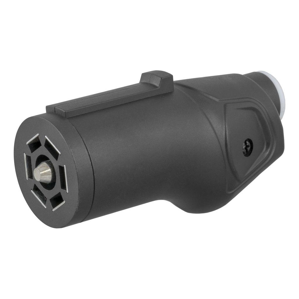 hight resolution of curt heavy duty 7 way rv blade connector plug 58145