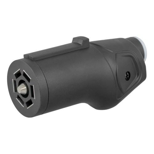 small resolution of curt heavy duty 7 way rv blade connector plug 58145