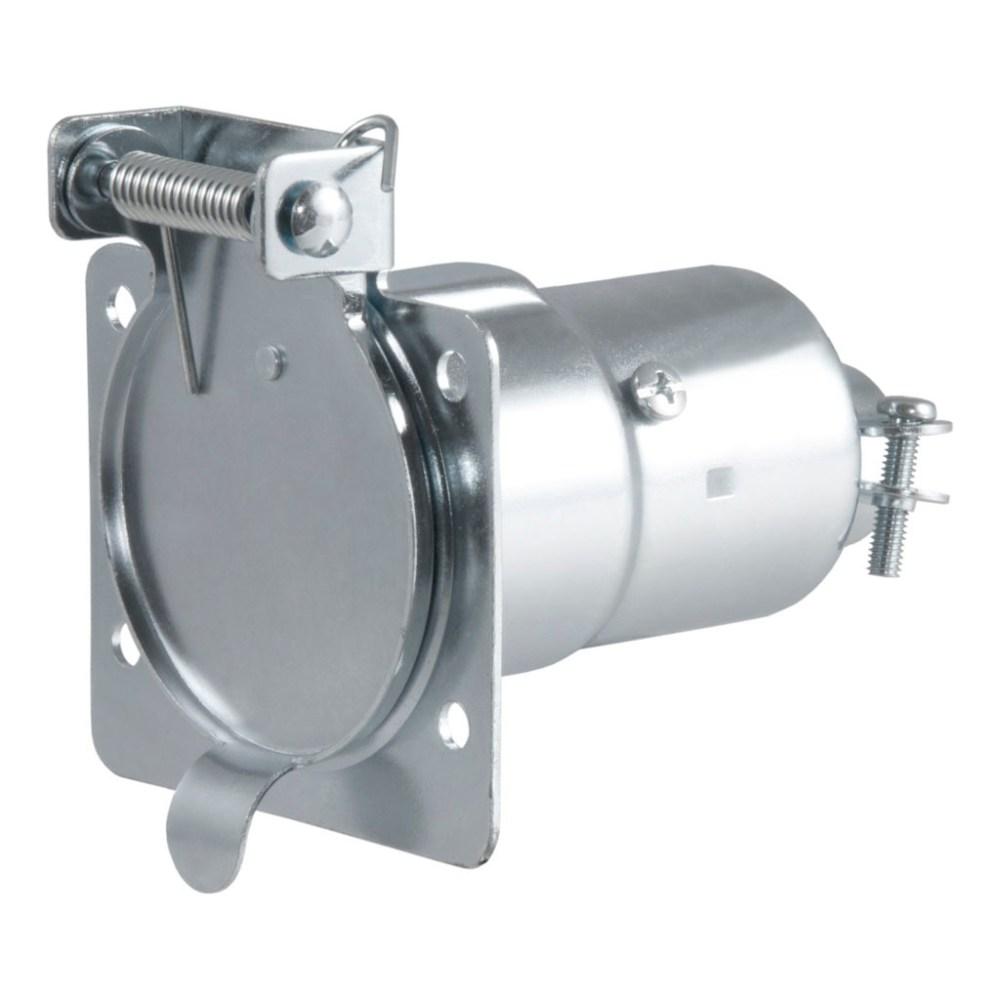 medium resolution of curt 7 way rv blade connector socket 58220