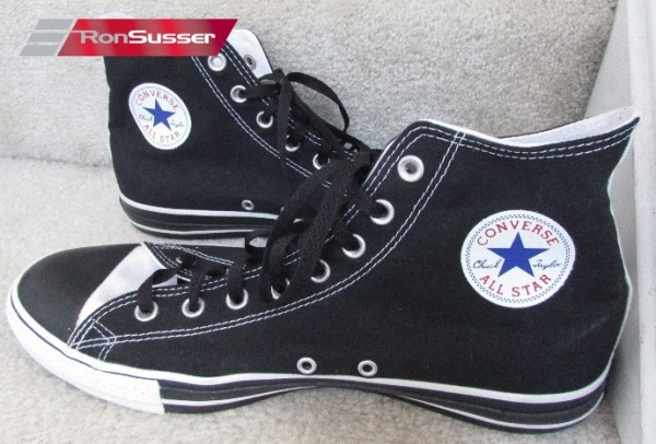 Converse Chuck Taylor All Star Custom Black Hi Tops