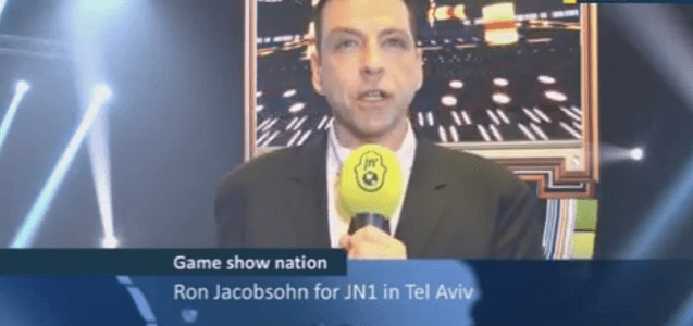 Ron Jacobsohn is on the Set of the New Israeli Format Gameshow – The Big Picture