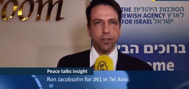 Ron Jacobsohn talks to Dan Shapiro about the looming Peace Negotiations deadline