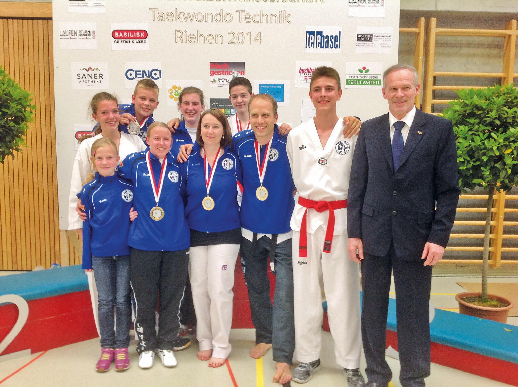 berragende Leistungen der Kim Taekwondo Schule Ebikon