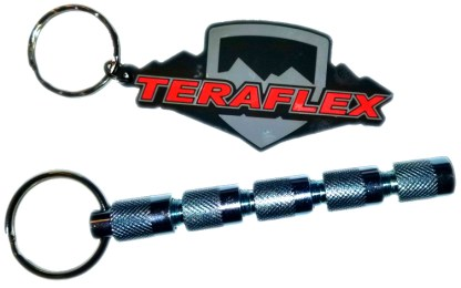 4807200 teraflex tire delfators with keychain