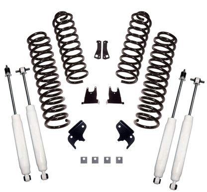 "2.5"" Jeep JKU lift kit with shocks"