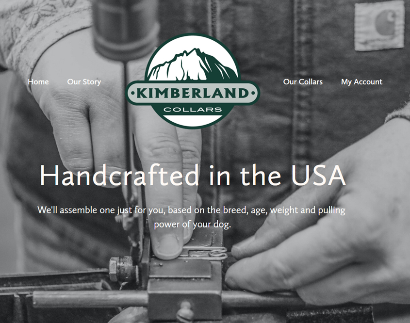 kimberland collars in cle elum screenshot