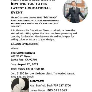 METHOD CLASS AT THE COMB 8-9-21