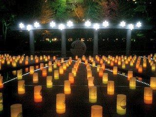 明かり絵ファンタジア。和田倉噴水公園にて