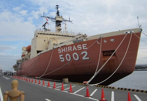 南極観測船初代しらせ