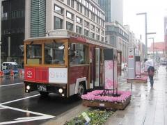 期間限定のシャトルバス