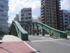 柳橋(神田川)も渡る