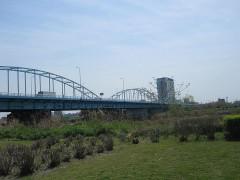 第二京浜が多摩川を渡る